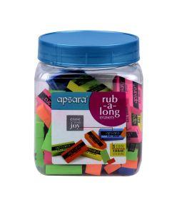 Apsara Colour Eraser Jar