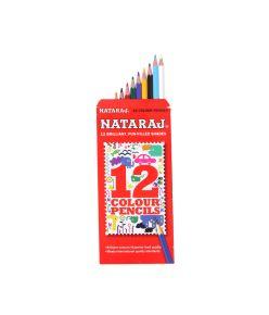 Nataraj Colour Pencils mrp25 10pkts