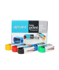 Apsara Long Point Sharpener MRP 100 5 Pkts