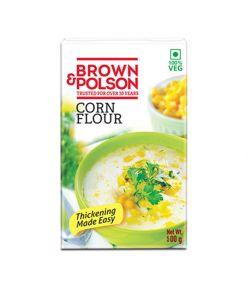 Brown Polson Corn Flour 500gm