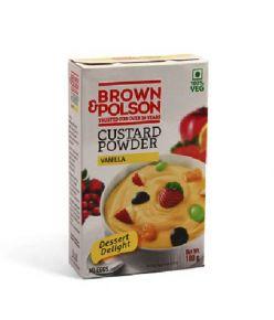 Brown Polson Custard Powder Vanilla 100gm