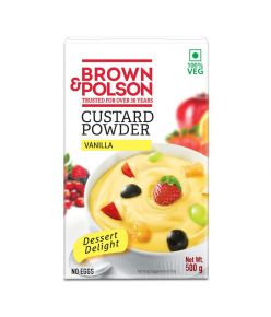 Brown Polson Custard Powder Vanilla500gm