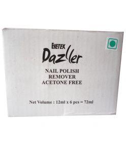 Eyetex Dazller Nail Remover Acetone Free 6pc