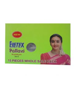 Eyetex Pallavi Kumkum 3in1 15flaps