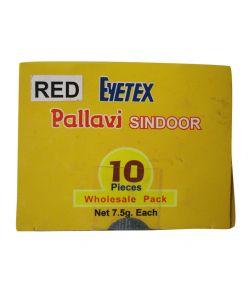Eyetex Pallavi Sindoor RED 10PC